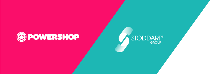 Powershop and Stoddart logos