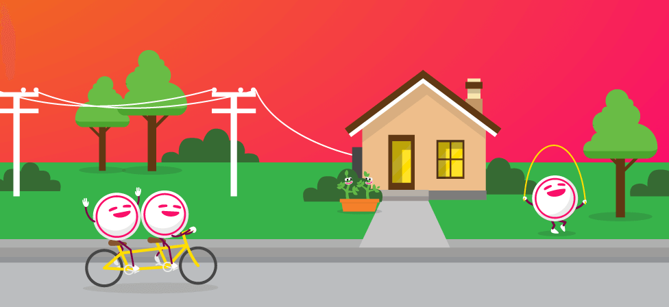 How does electricity get to your home?